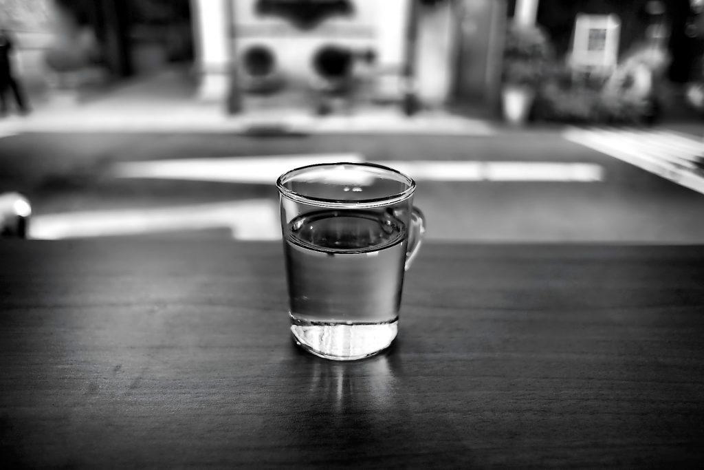 Wasser mit Osmoseanlage
